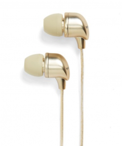 gold ear buds