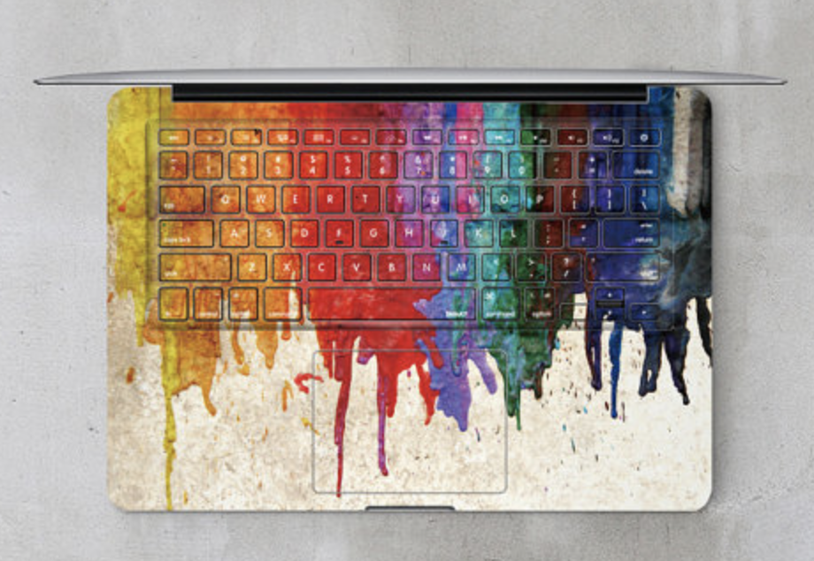 keyboard decal for writers