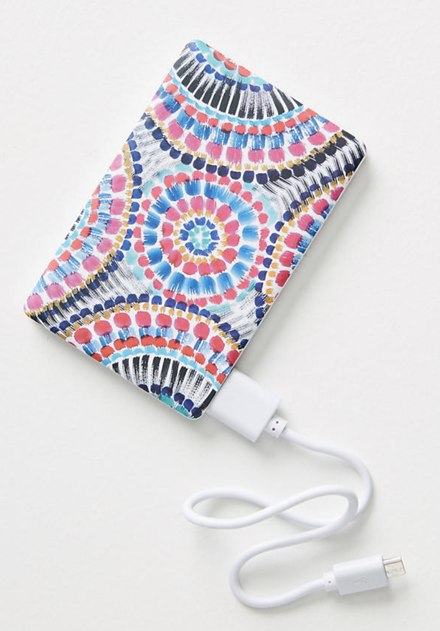 portable power charger for writers